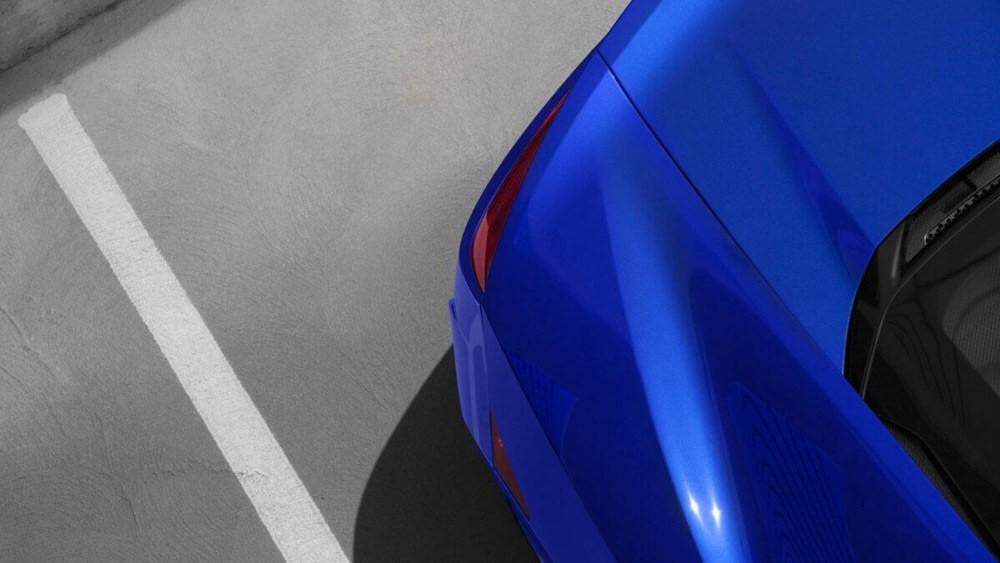 2017 Acura NSX Blue