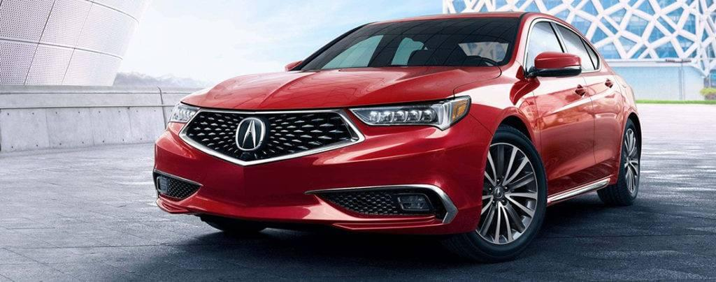 2018 Acura TLX Grille