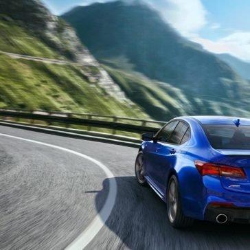 2018 Acura TLX Rear