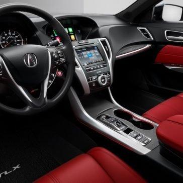 2018 Acura TLX Cabin
