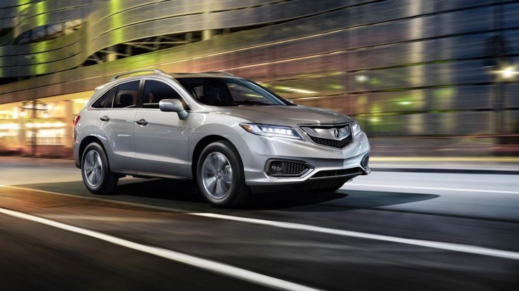 Acura RDX Driving
