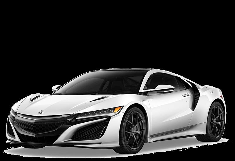 2017 Acura white NSX