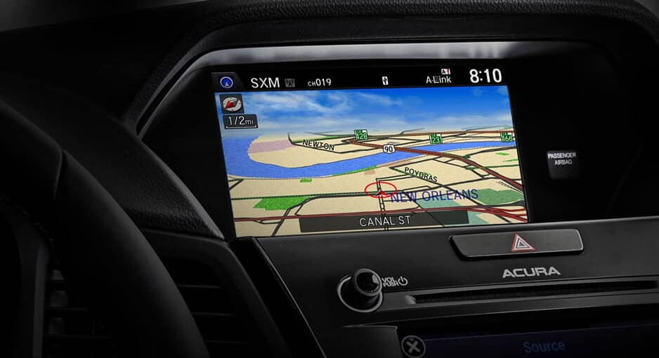 2017 Acura ILX Technology Plus package: navigation system