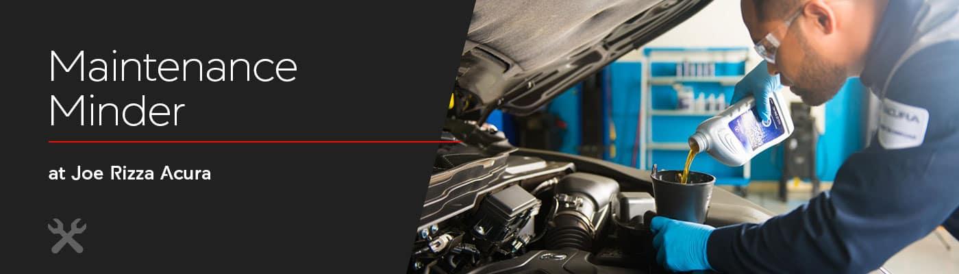 Acura Maintenance Minder Overview at Joe Rizza Acura