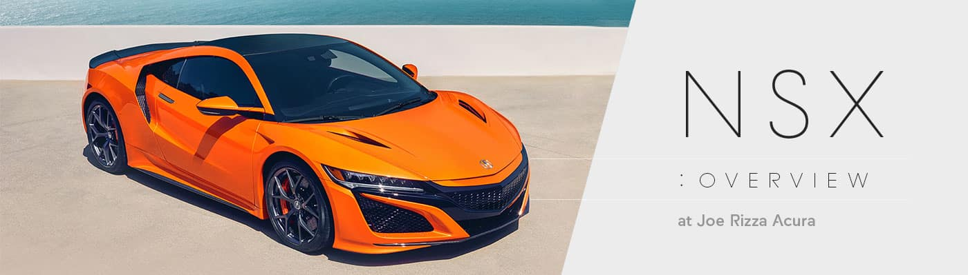2019 Acura NSX Model Overview at Joe Rizza Acura