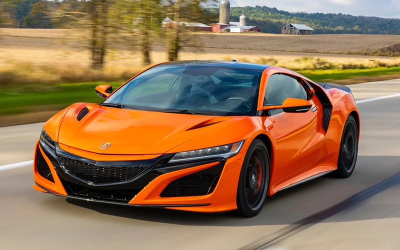 Acura NSX Performance Award