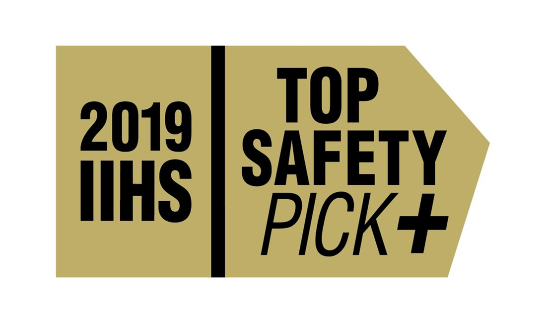 2019/2020 IIHS Top Safety Pick +