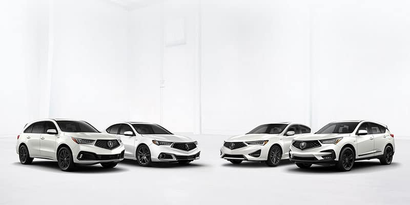 Acura Model Lineup