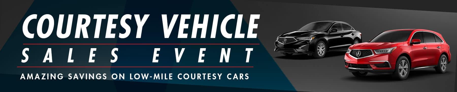 Acura Courtesy Vehicles