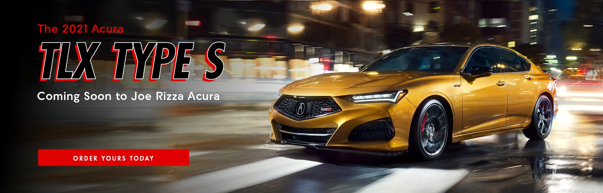 TLX Type S Banner