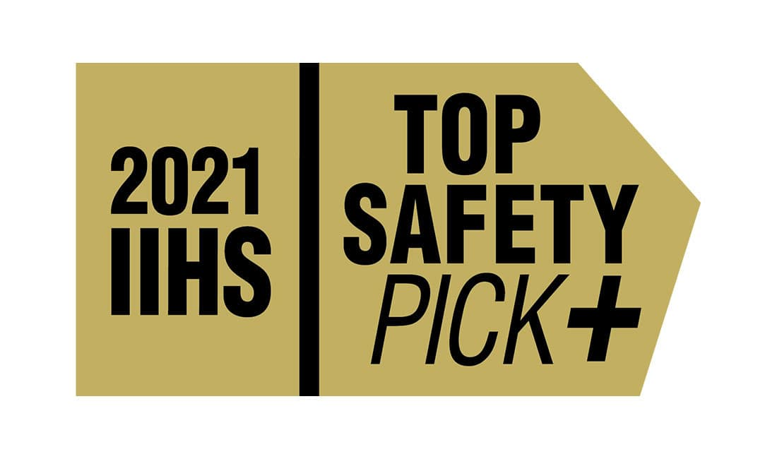 IIHS Top Safety Pick +