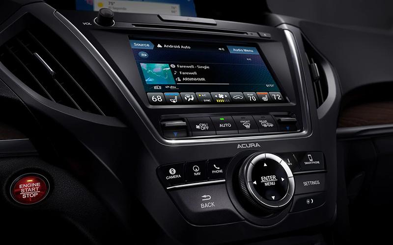 Acura MDX Infotainment
