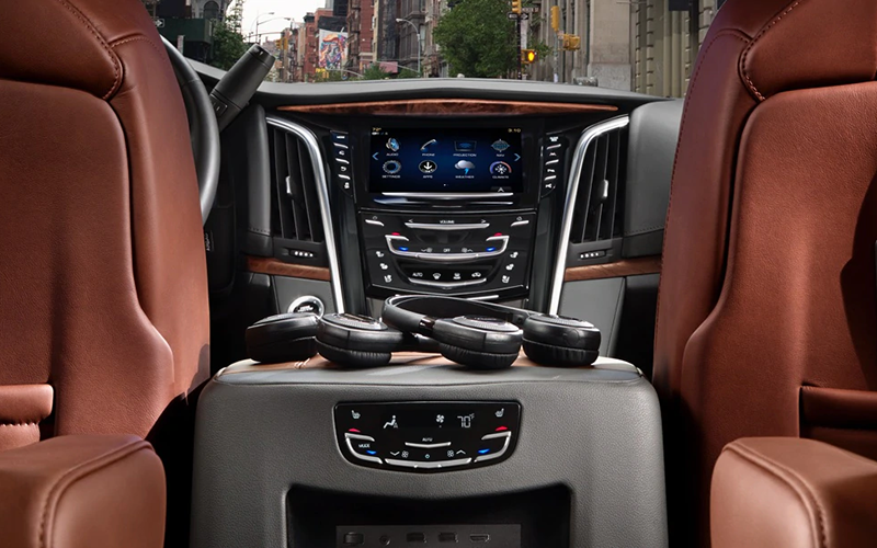 Cadillac Escalade Rear Entertainment