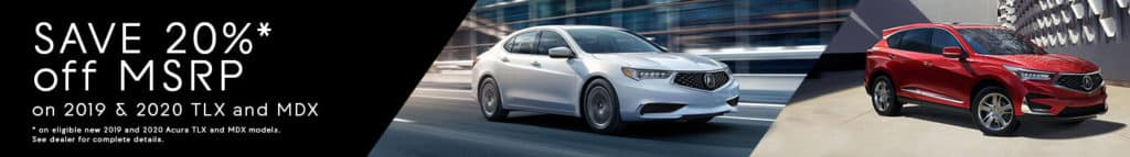 Rizza Acura Offers 20% Off MSRP
