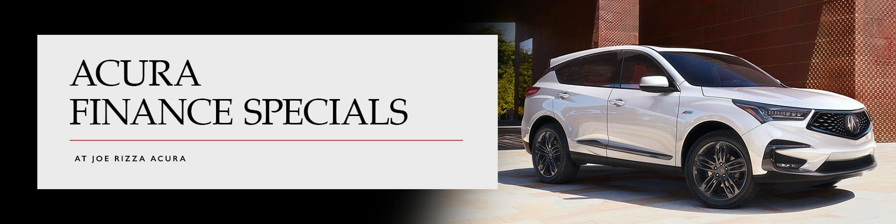 Joe Rizza Acura Finance Offers in Chicago, Illinois