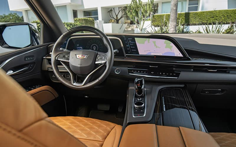 Cadillac Escalade Rear Entertainment
