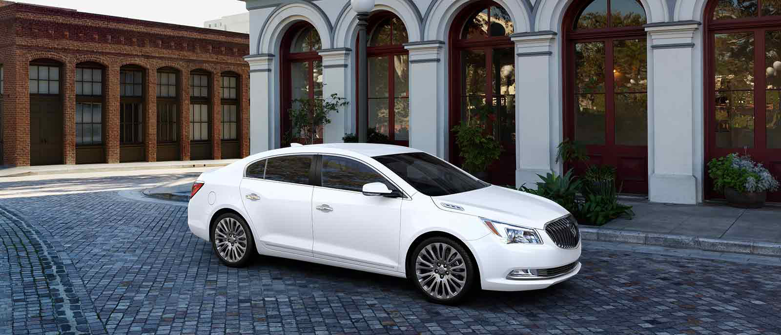 2016 Buick LaCrosse Exterior Side