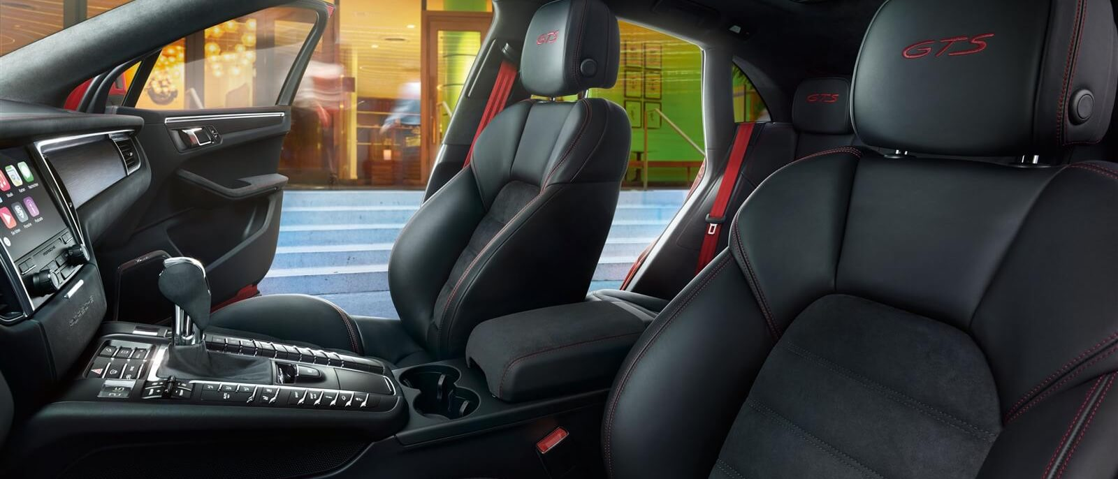 2017 Porsche Macan GTS Front Interior Seating