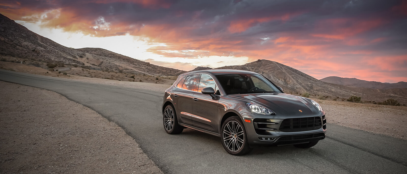 2017 Porsche Macan Turbo sunset