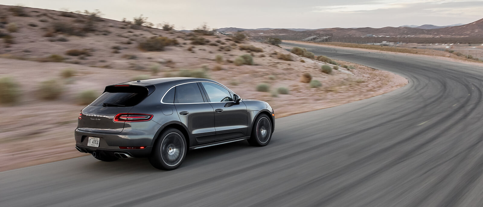 2017 Porsche Macan Turbo highway