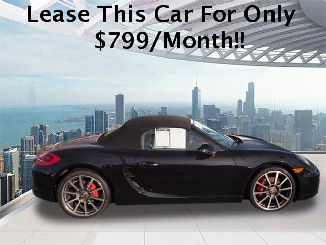 Certified 2015 Porsche Boxster S RWD 2dr Convertible