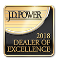 J.D. Power 2018 Dealer of Excellence