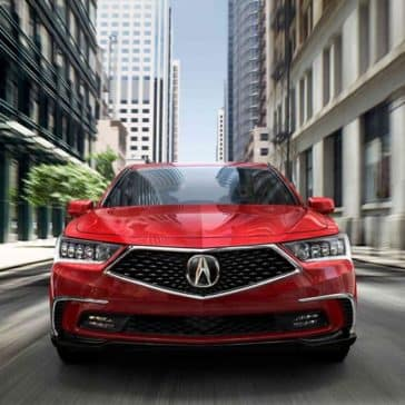 2018 Acura RLX front end