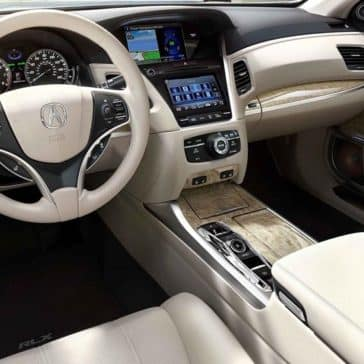 2018 Acura RLX interior dashboard