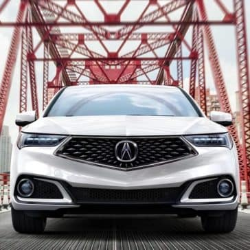 2018 Acura TLX front end