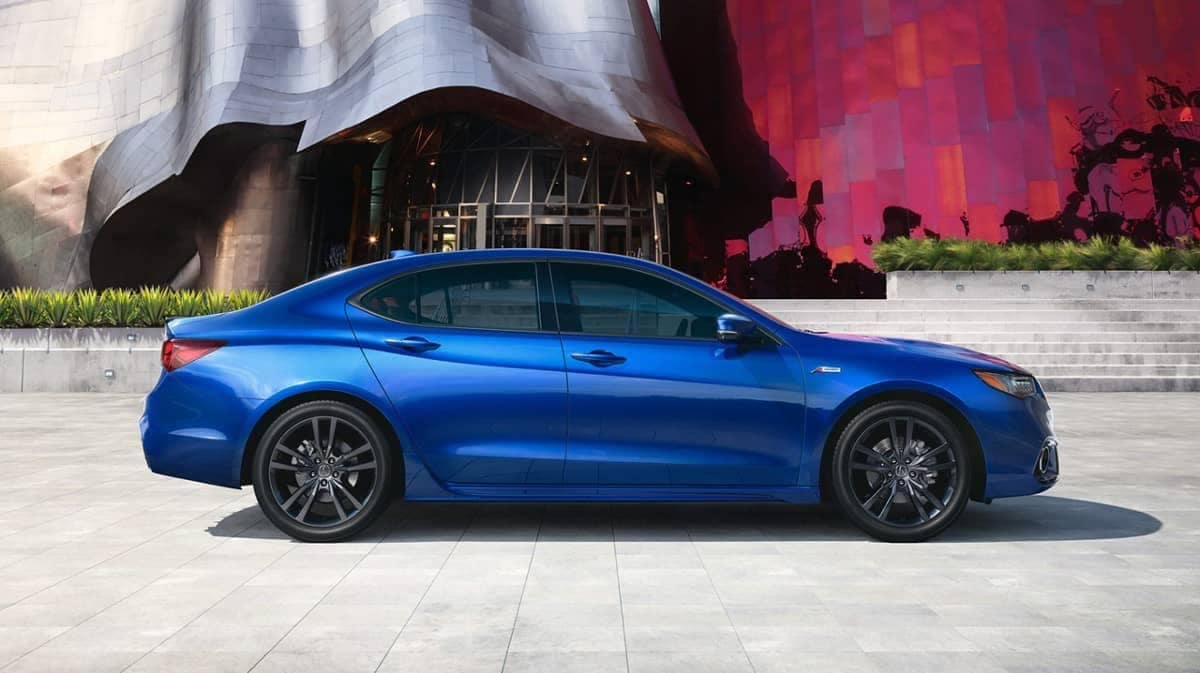 2019 Acura TLX A-Spec in Blue