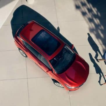 birds eye view of 2019 Acura RDX