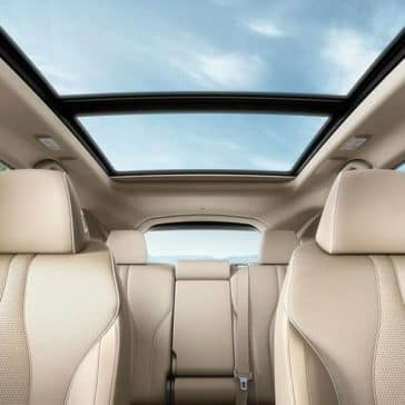 2019 Acura RDX leather seats and panoramic roof