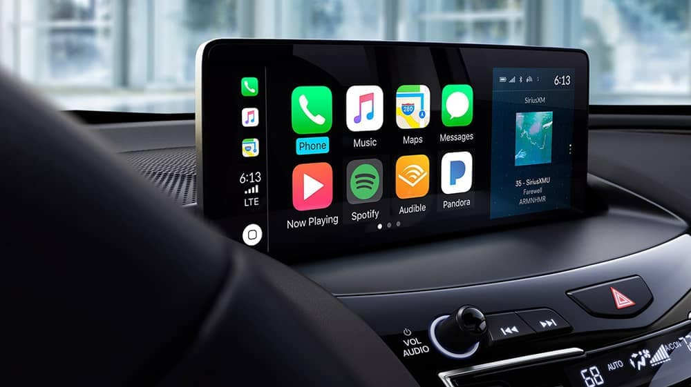2019 Acura RDX infotainment screen