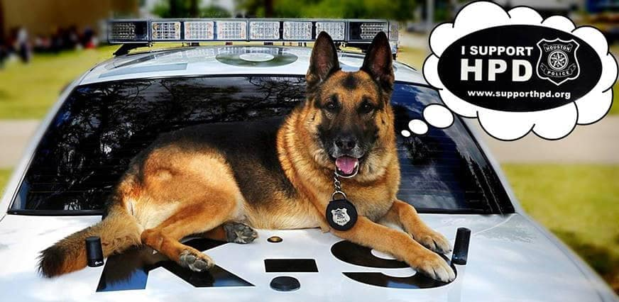 Houston Police Foundation K-9 hero