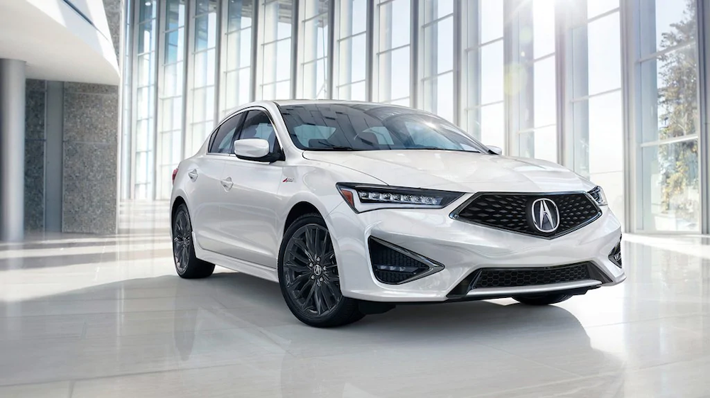 2019 Acura ILX in a showroom