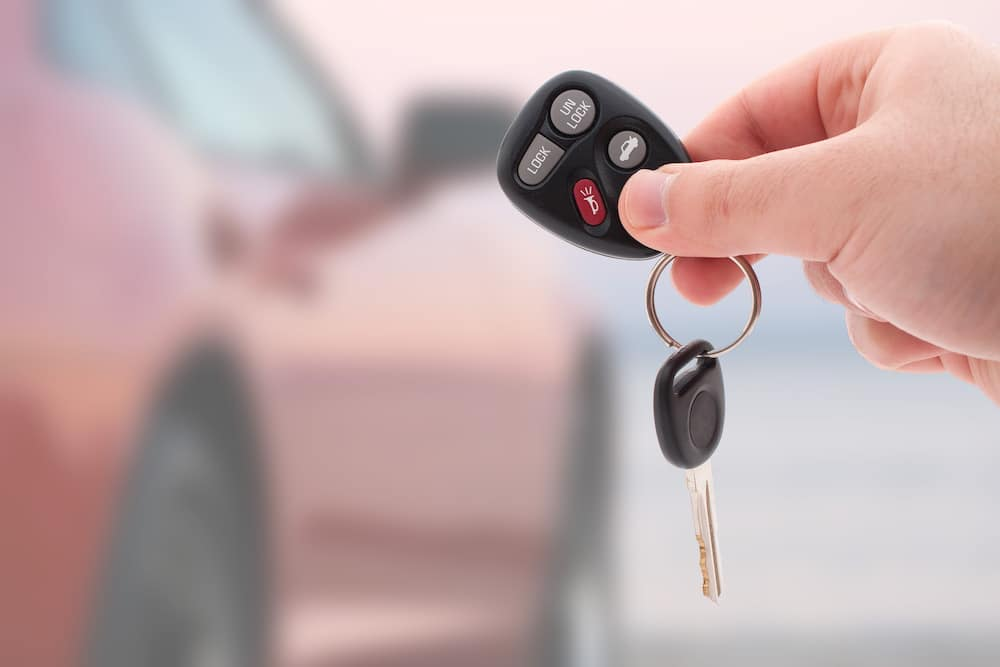 Car key and fob