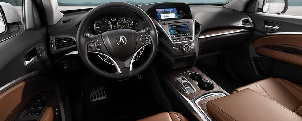 2020 MDX front seats