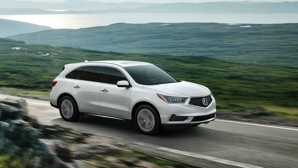 2020 Acura MDX Driving