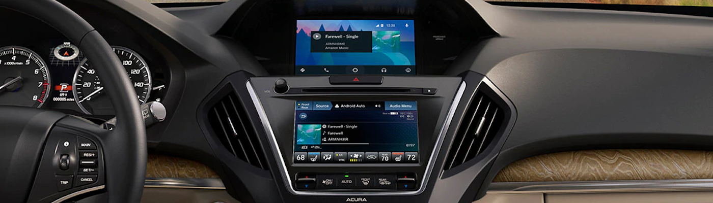 2020 MDX with Android Auto