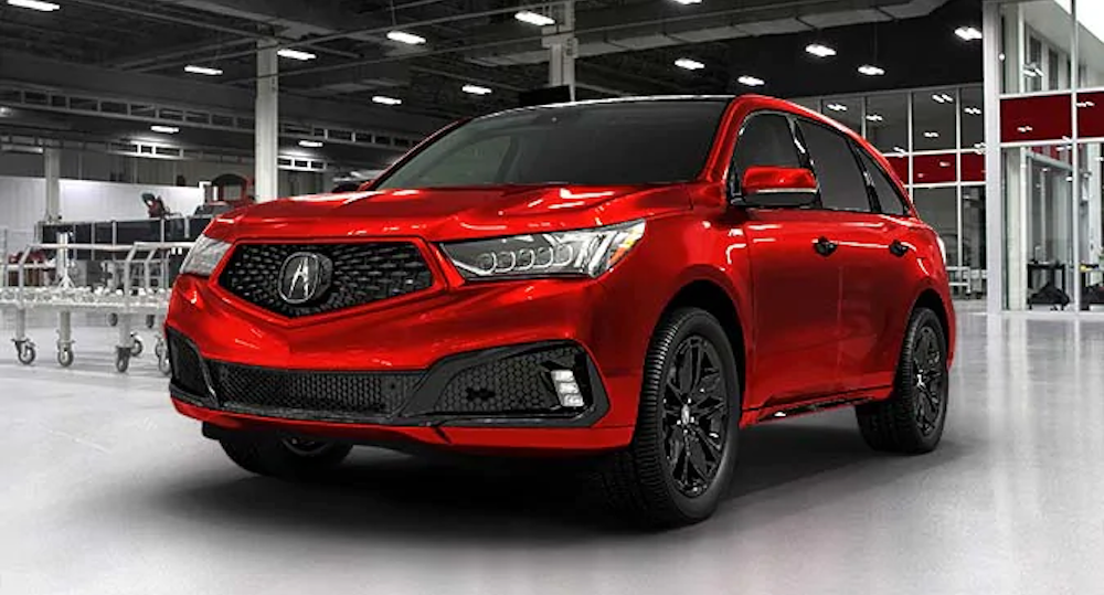 Parked 2020 MDX PMC Edition