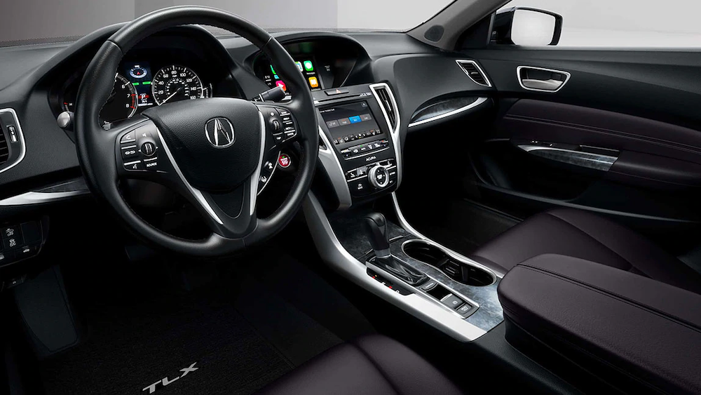 2020 TLX front seats