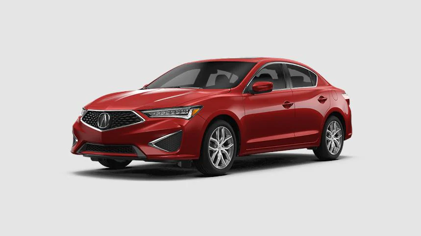 2020 Acura ILX in Performance Red Pearl