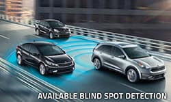2018 Kia Niro in Portland watches out for your blind spot