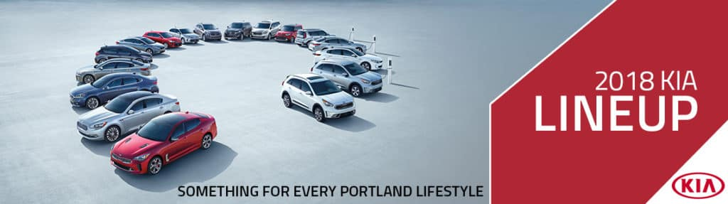 New Kia Lineup in Portland