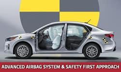 Safety of the new Kia Rio in Portland