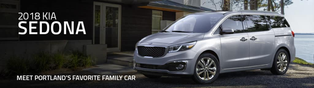 New Kia Sedona Among Portland's Favorite Family Cars