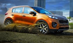 How does New Kia Sportage perform in Portalnd
