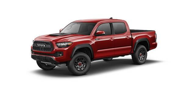 The 2017 Toyota Tacoma