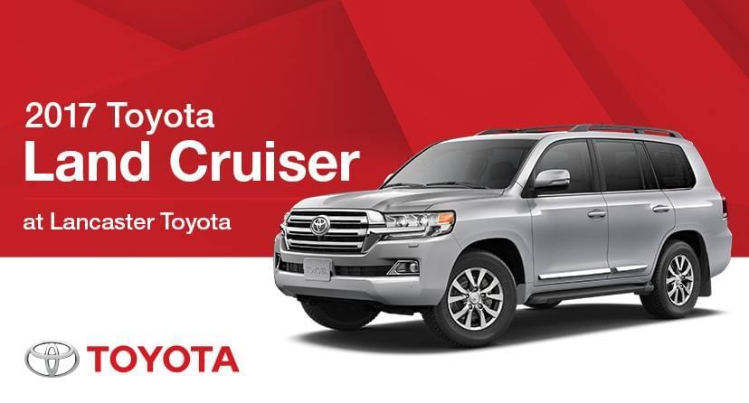 Toyota Lancaster Pa >> 2017 Toyota Land Cruiser Lancaster Pa Lancaster Toyota