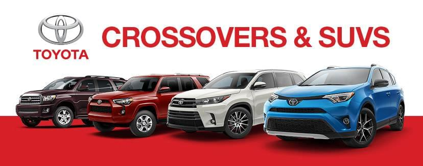 Toyota Crossovers and SUVs